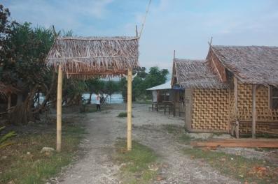 Pintu masuk pantai Tanjung Layar