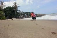 Berdua @ Pantai Romodong