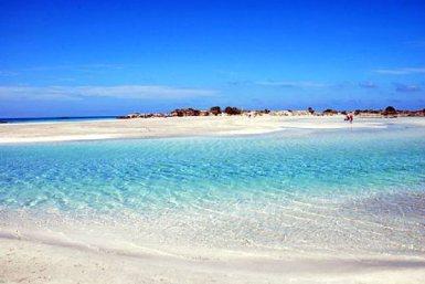 Elafonissi Beach